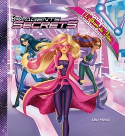 BARBIE AGENT SECRET, L'ALBUM DU FILM