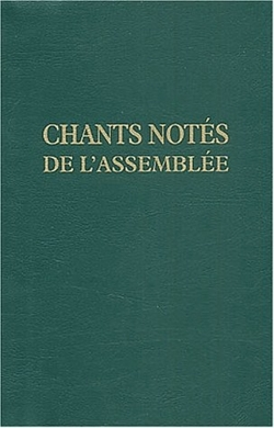 CHANTS NOTES POUR L'ASSEMBLEE
