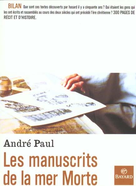 MANUSCRITS DE LA MER MORTE (NLLE ED.)