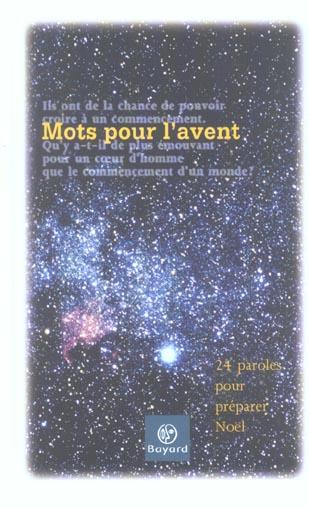 MOTS POUR L'AVENT - 24 MOTS POUR CELEBRER NOEL