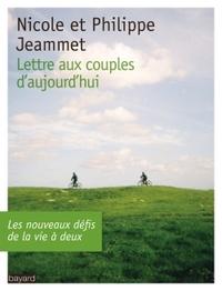 LETTRE AUX COUPLES D'AUJOURD'HUI