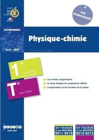 PHYSIQUE/CHIMIE - CLASSES DE PREMIERE ET TERMINALE STD2A, CLASSES DE PREMIERE STI2D ET STL