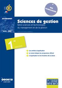 SCIENCES DE GESTION - PREMIERE STMG