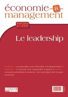 ECONOMIE ET MANAGEMENT 155 : LE LEADERSHIP