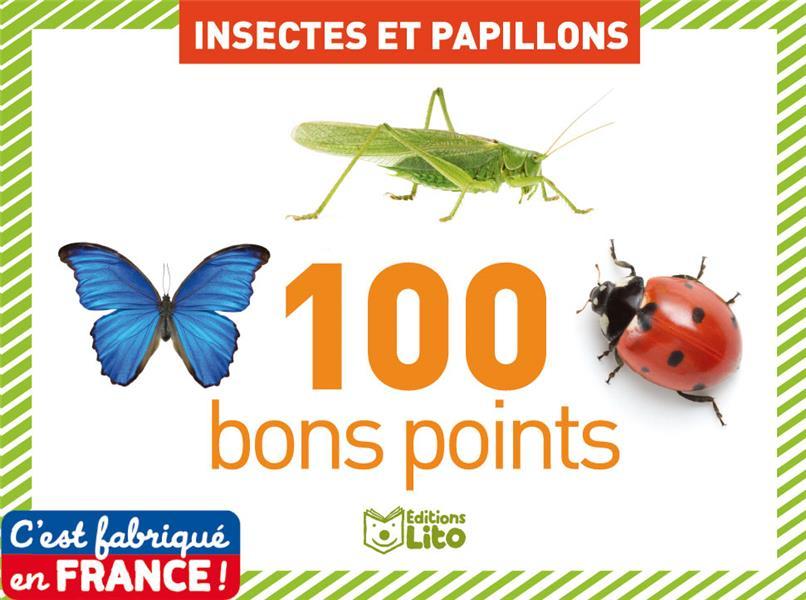 100 BP INSECTES ET PAPILLONS