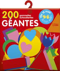 200 GOMMETTES GEANTES