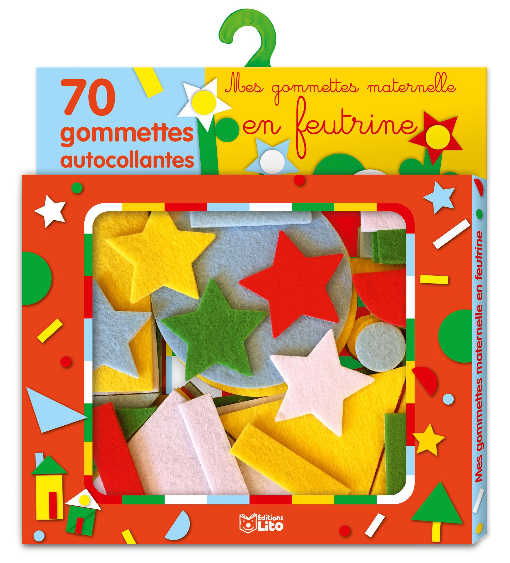 GOMMETTES MATERNELLE FEUTRINE