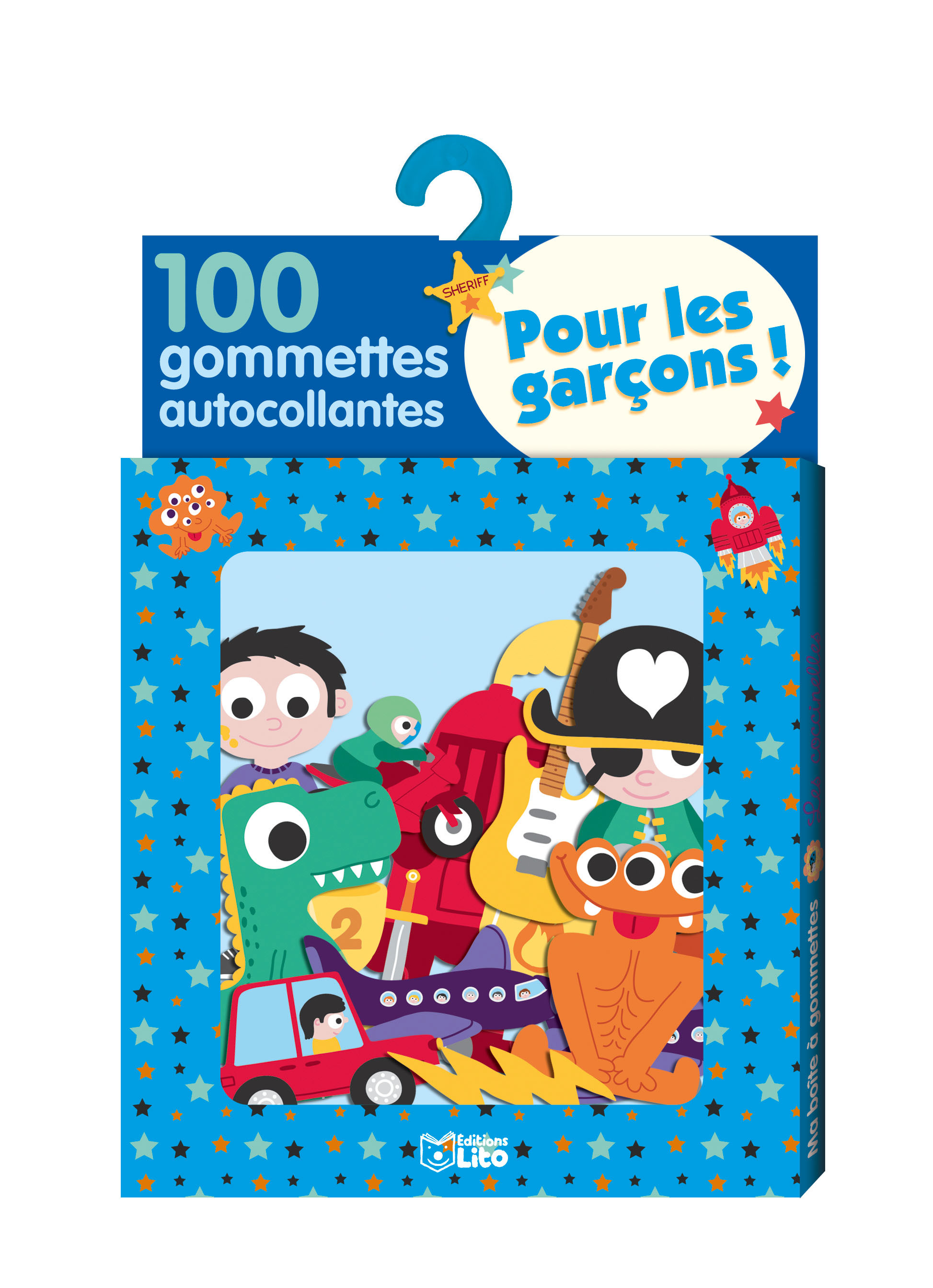 GOMMETTES SPECIAL GARCONS