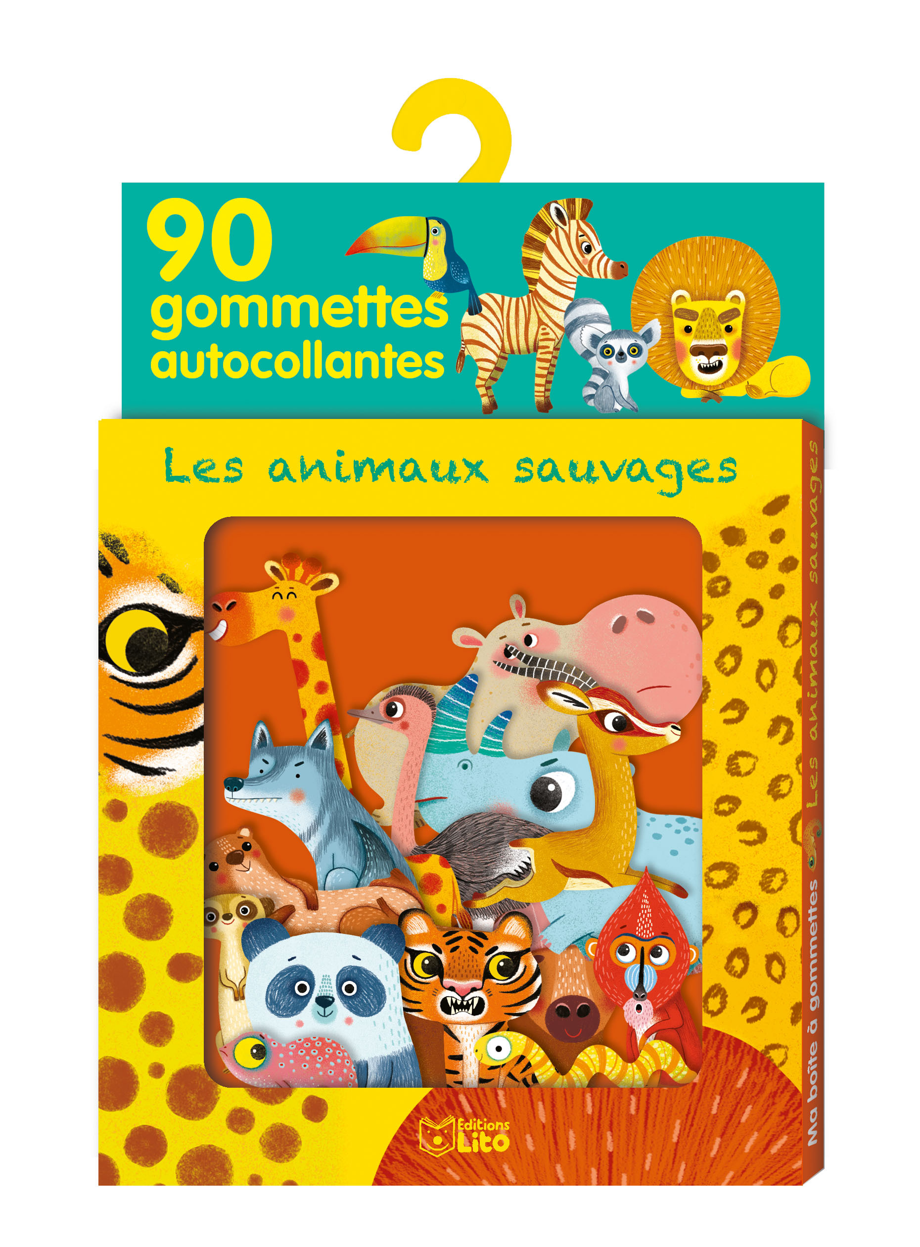 GOMMETTES ANIMAUX SAUVAGES