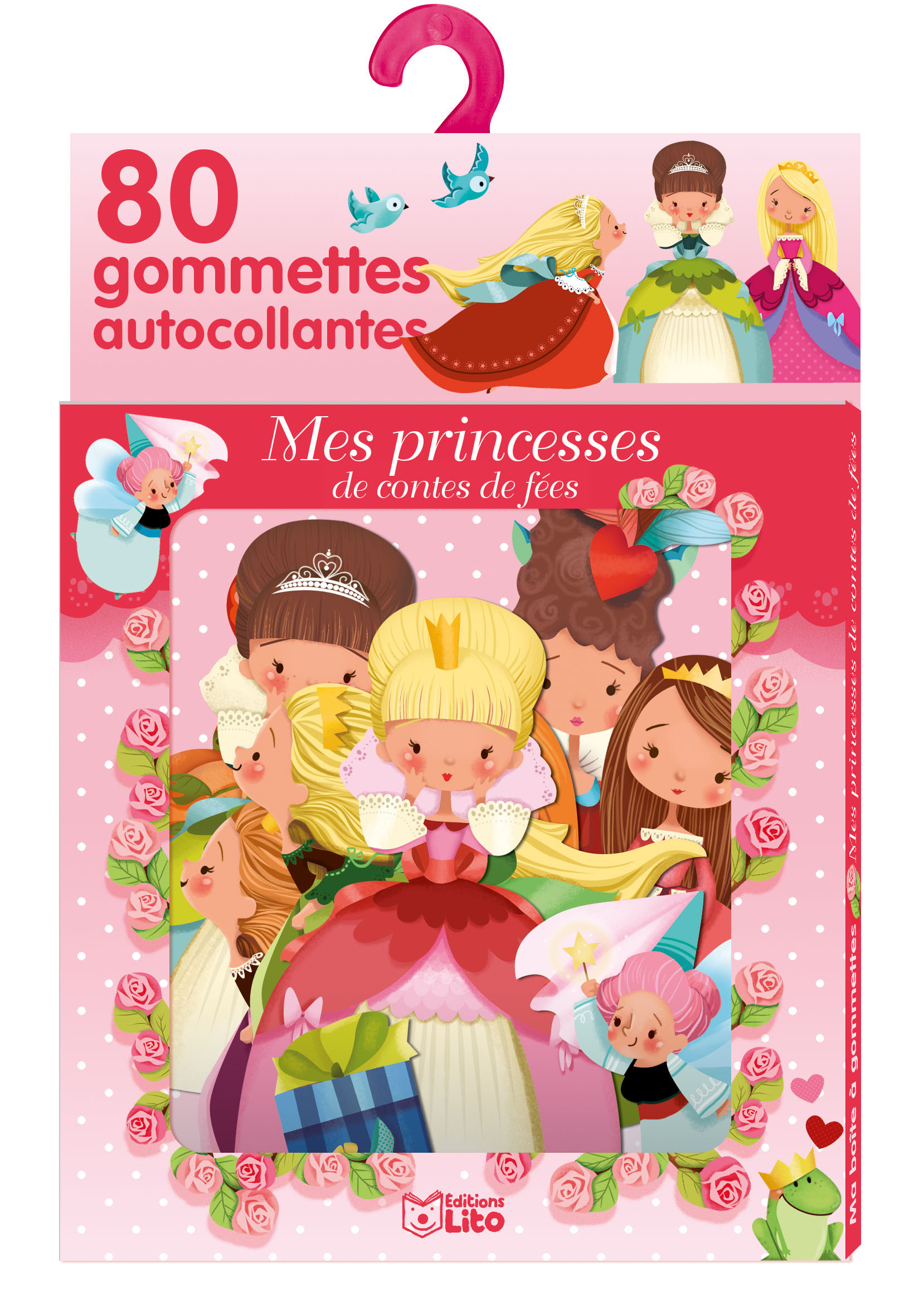 GOMMETTES PRINCESSES CONTES