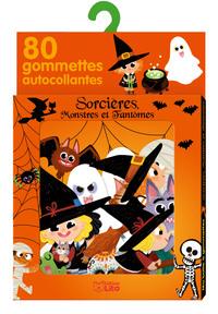 GOMMETTES SORCIERES MONSTRES
