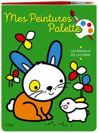 PEINTURE PALETTE-ANIMAUX FERME