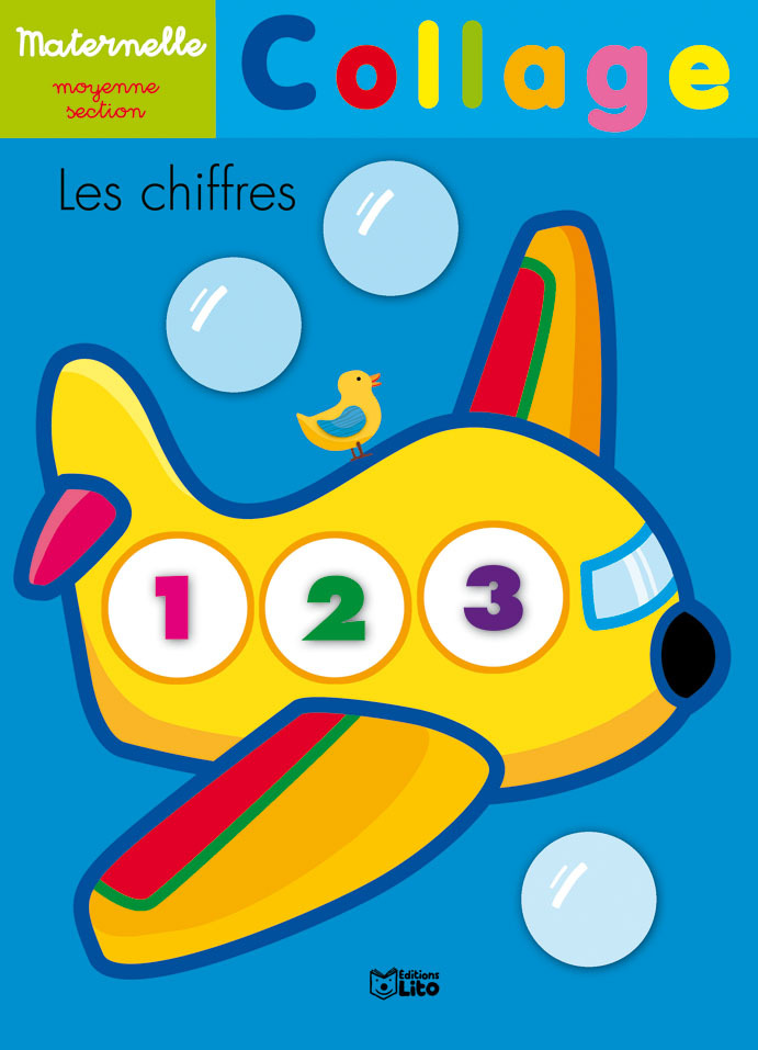 COLLAGE MATERNELLE PS CHIFFRES