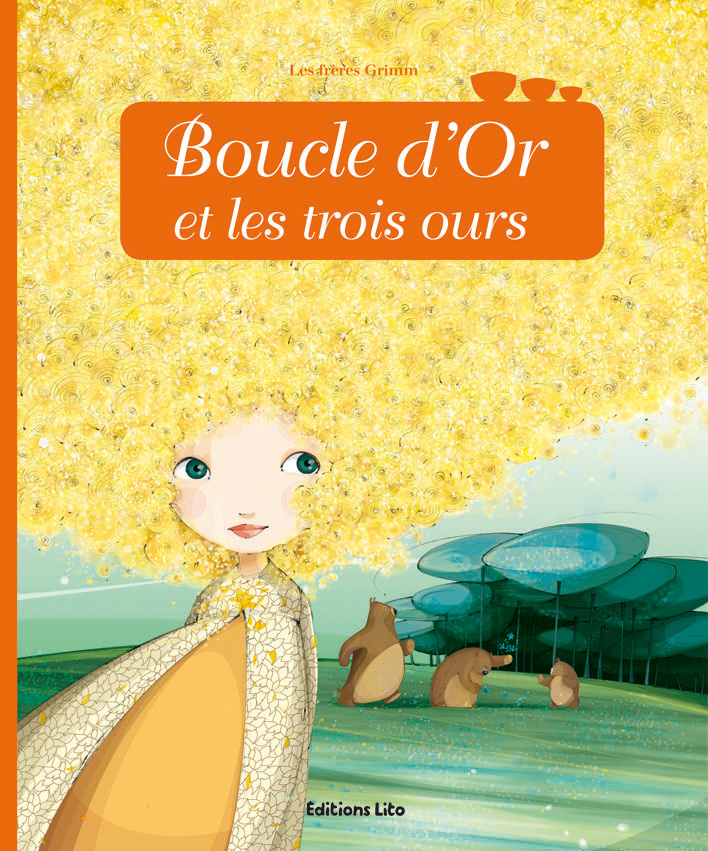MINICONTE BOUCLE OR LES 3 OURS