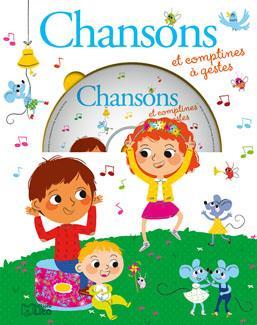 LIVRE CD CHANSONS ET COMPTINES