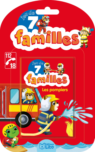 JEUX 7 FAMILLES POMPIERS