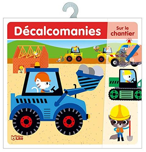 DECALCOMANIES ENGINS CHANTIER