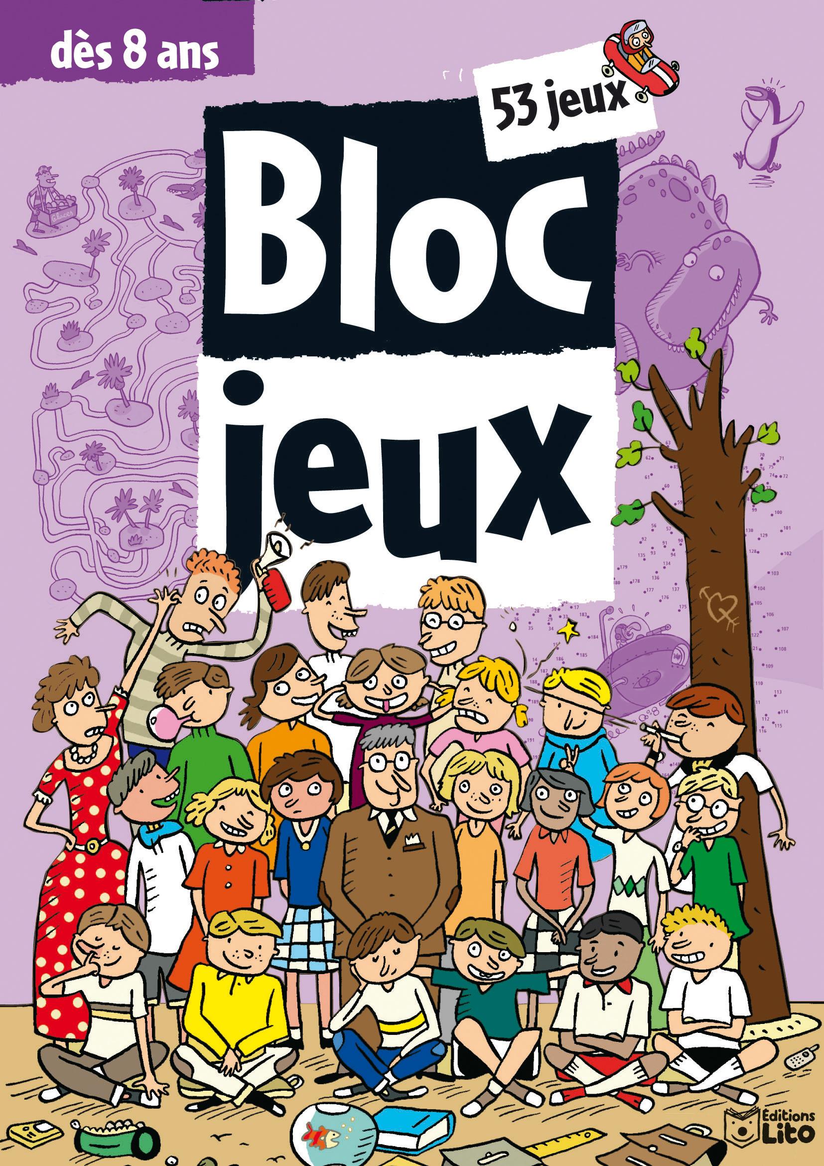 LES BLOCS JEUX : 53 JEUX DES 8 ANS
