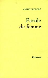 PAROLE DE FEMME