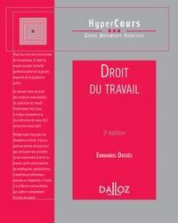 DROIT DU TRAVAIL 2E HYPERCOURS