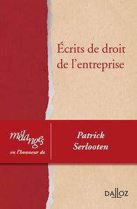 MELANGES EN L'HONNEUR DE PATRICK SERLOOTEN - 1RE EDITION