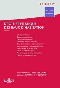 DROIT ET PRATIQUE DES BAUX D'HABITATION 2018/19