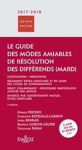 LE GUIDE DES MODES AMIABLES DE RESOLUTION DES DIFFERENDS 2017/2018 - 3E ED.