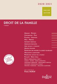 DROIT DE LA FAMILLE 2020/2021 - 8E ED.