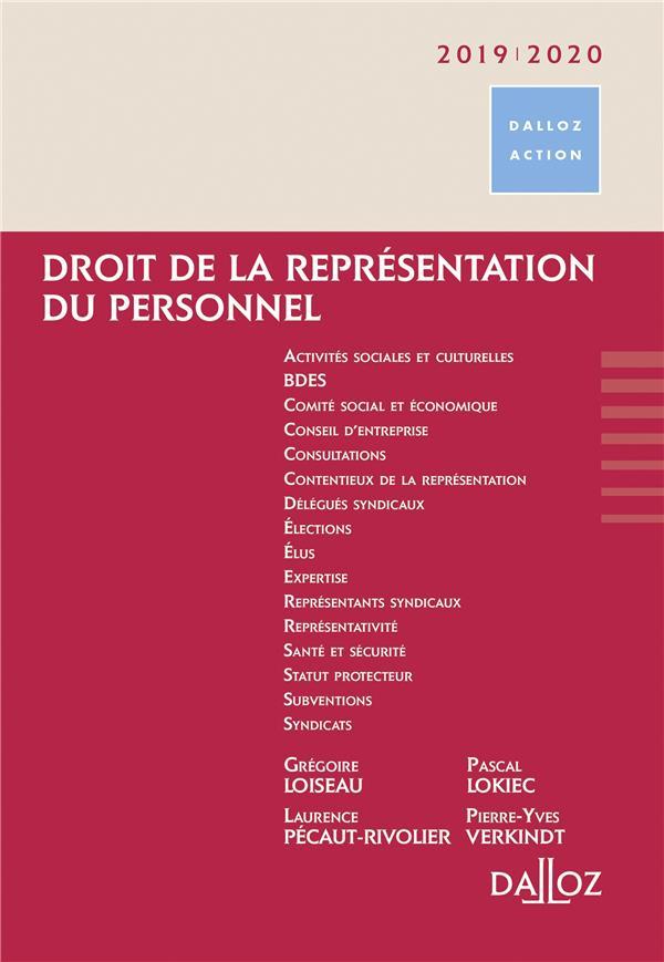 DROIT DE LA REPRESENTATION DU PERSONNEL - NOUVEAUTE