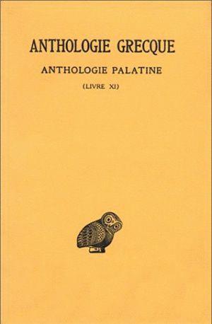 ANTHOLOGIE GRECQUE T10 L11