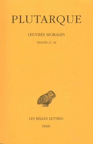 OEUVRES MORALES T7 (1ERE PARTIE)