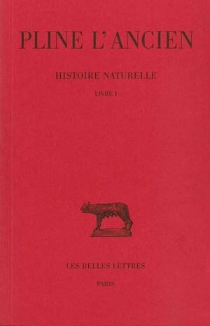 HISTOIRE NATURELLE L1