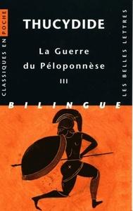 GUERRE DU PELOPONNESE (CP97) T3