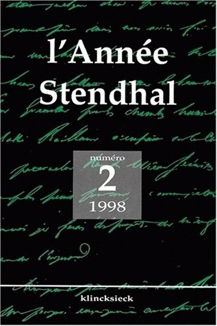 ANNEE STENDHAL T2/1998