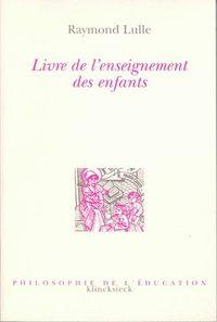 LIVRE DE L'ENSEIGNEMENT DES ENFANTS