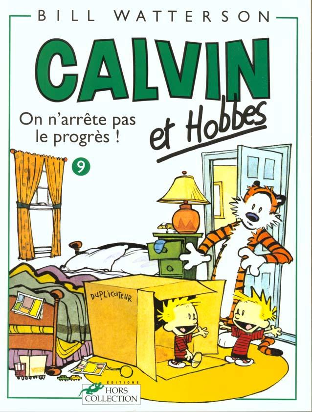 CALVIN ET HOBBES TOME 9 ON N'ARRETE PAS LE PROGRES