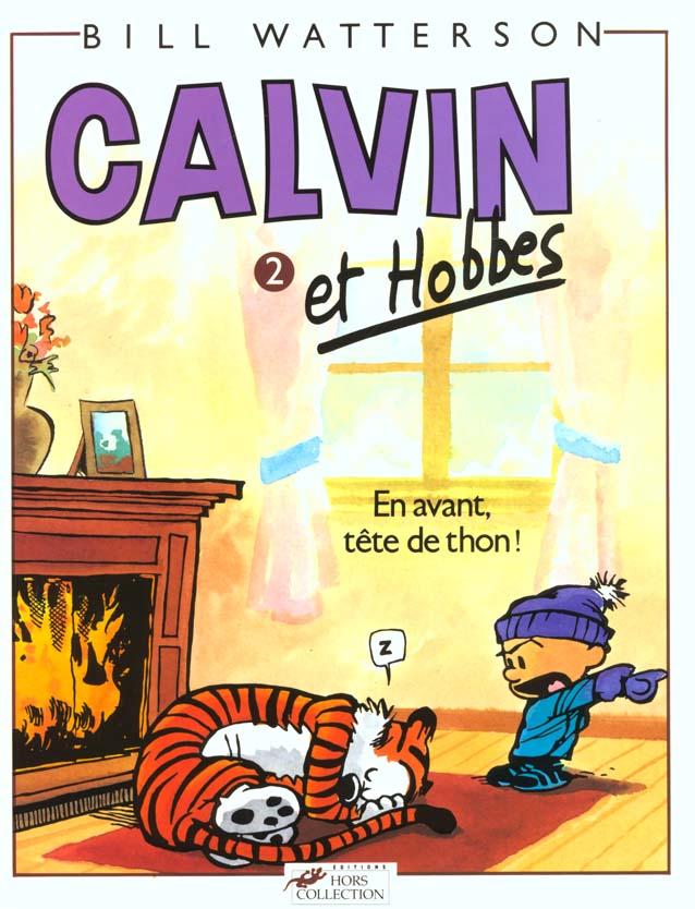 CALVIN ET HOBBES TOME 2 EN AVANT TETE DE THON