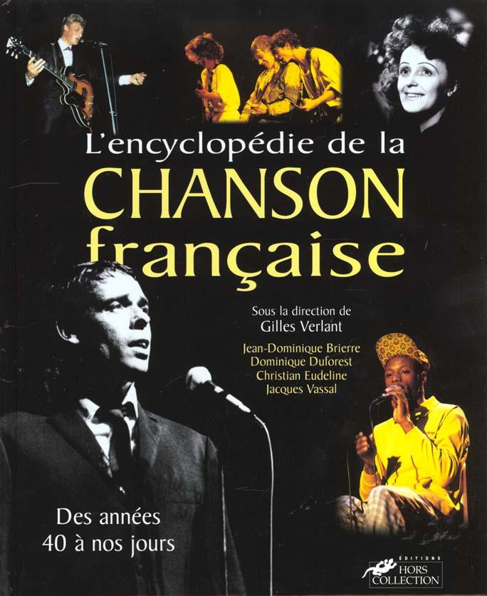 ENCYCL DE LA CHANSON FRANCAISE