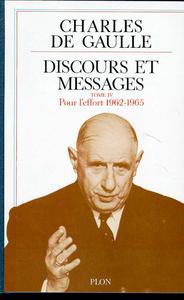 DISCOURS ET MESSAGES - TOME 4