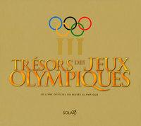 TRESORS DES JEUX OLYMPIQUES  LIVRE OFFICIEL DU MUSEE OLYMPIQUE