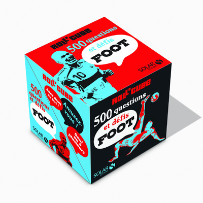 ROLL'CUBE 500 QUESTIONS ET DEFIS FOOT