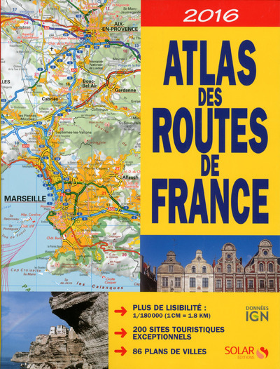 ATLAS DES ROUTES DE FRANCE 2016 - 2017