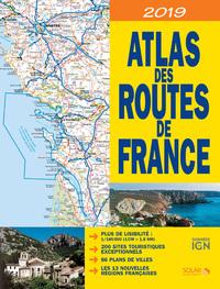 ATLAS DES ROUTES DE FRANCE 2019