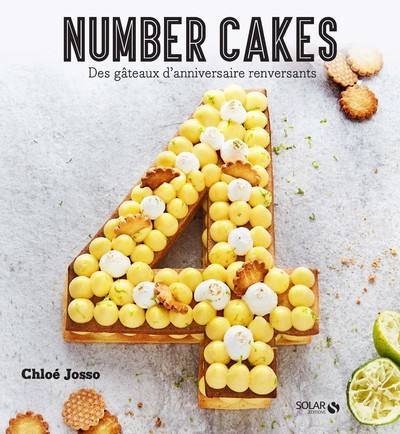 LES NUMBER CAKES  J ADORE
