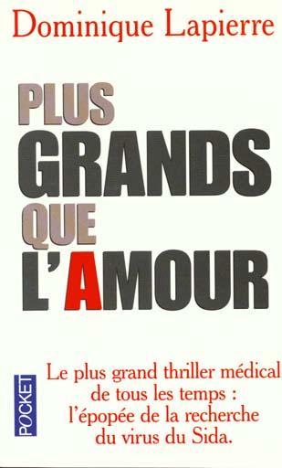 PLUS GRANDS QUE L'AMOUR