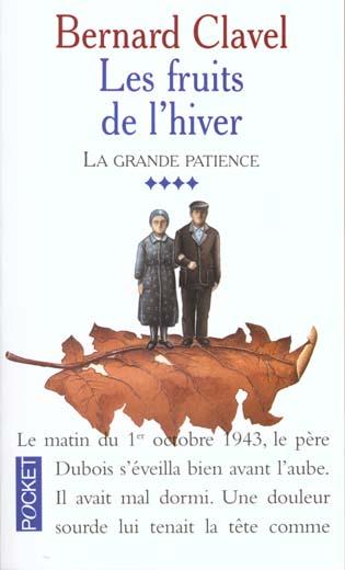 PP10425 FRUITS DE L HIVER  T4 GRANDE PATIENCE