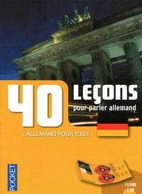 COFFRET 40 LECONS POUR PARLER ALLEMAND (LIVRE + 2CD)