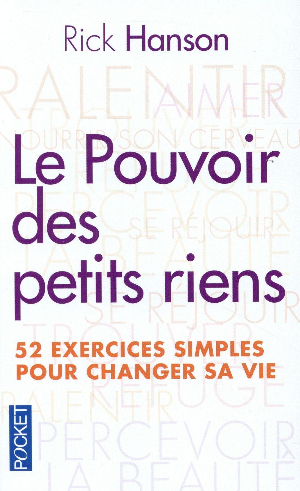 LE POUVOIR DES PETITS RIENS