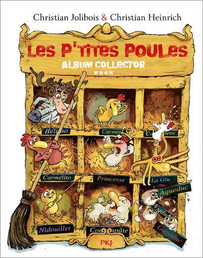 LES P'TITES POULES - ALBUM COLLECTOR T04 (TOMES 13 A 16) - VOL4