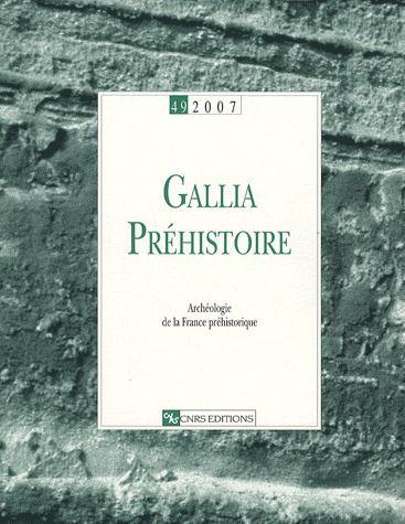 GALLIA PREHISTOIRE 49